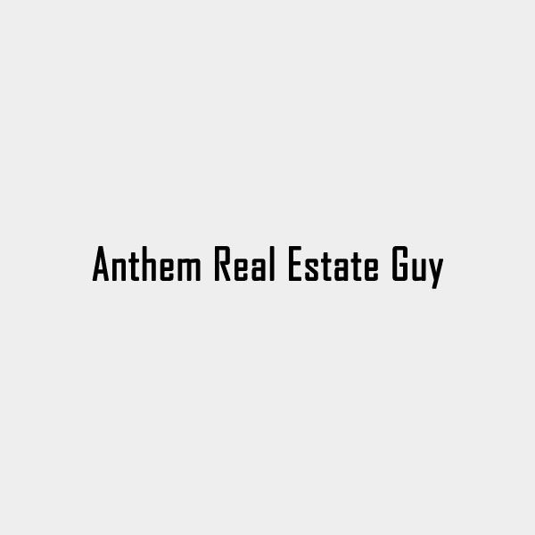 Anthem Real Estate Guy