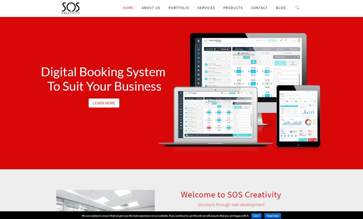 SOS Creativity New Website Alert