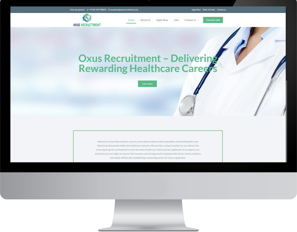 oxusrecruitment