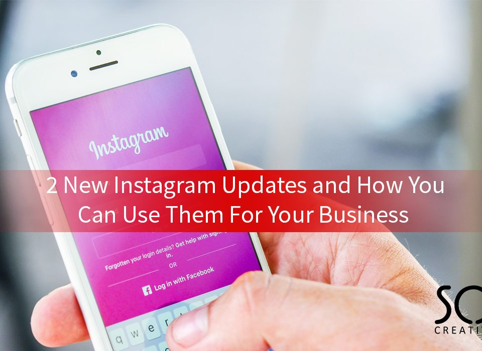 2 new instagram updates