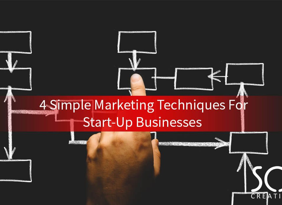 4 simple marketing techniques for start up businesses