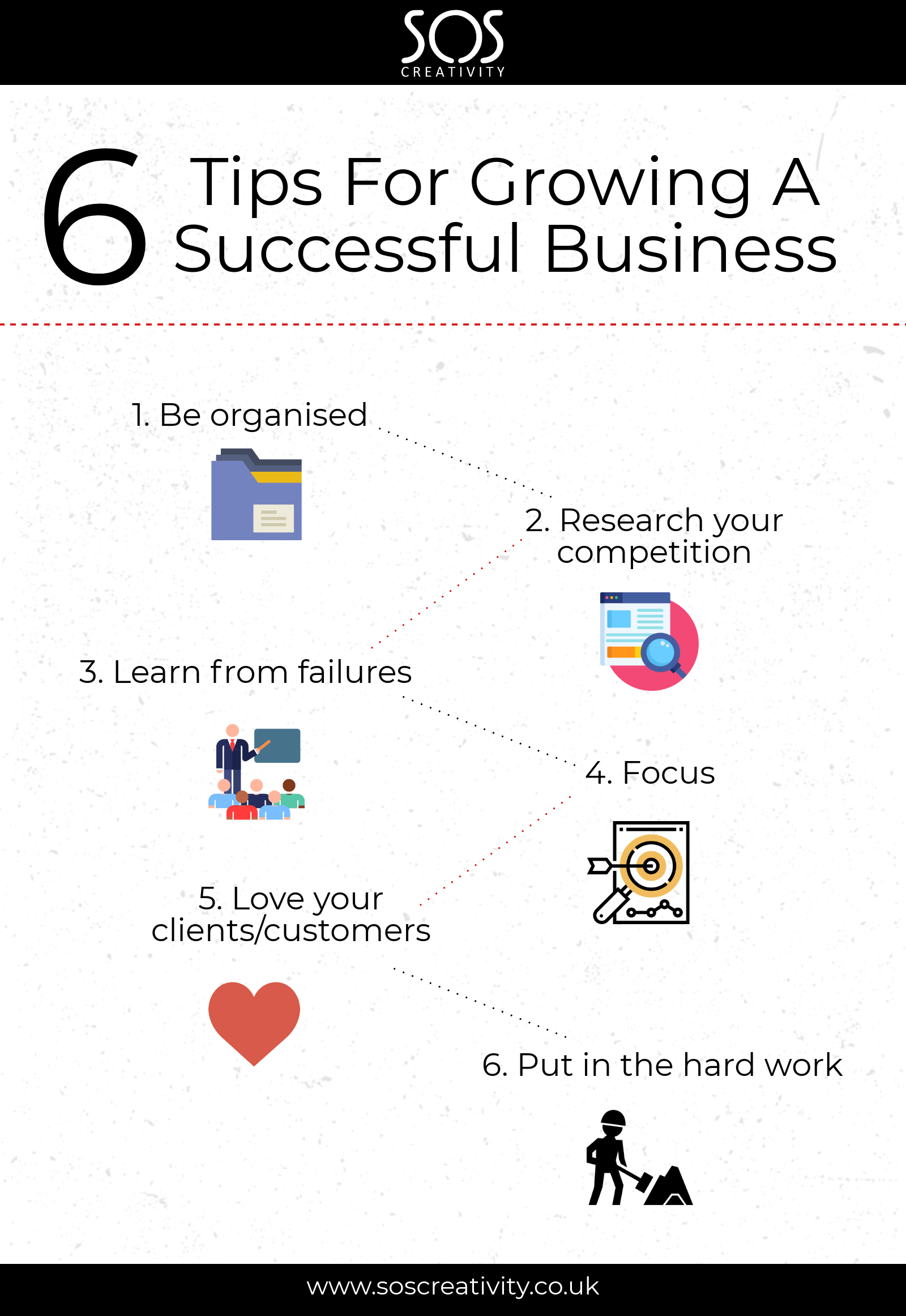 6 tips for growing a successful business