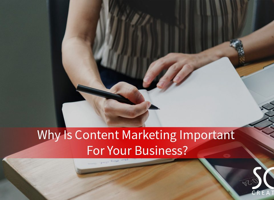 Why is content marketing important for your business – Cover Photo