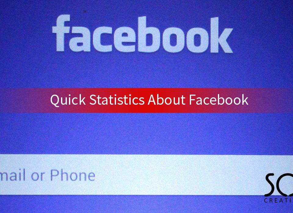 Quick Statistics About Facebook
