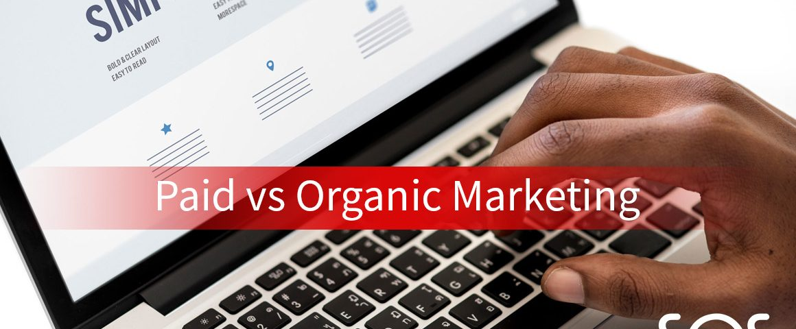 paid vs organic marketing