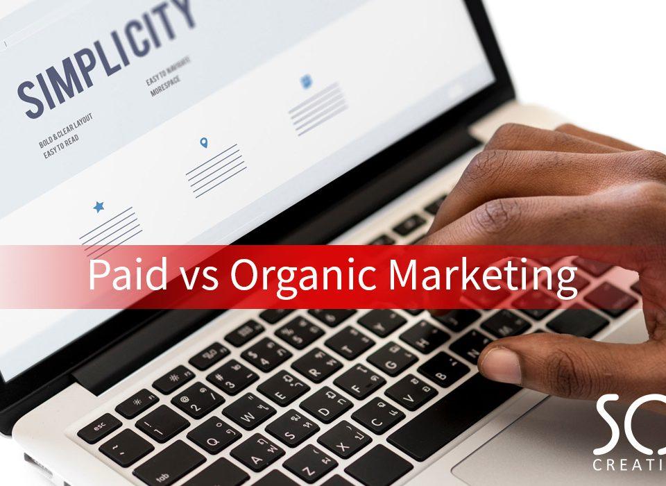paid vs organic marketing