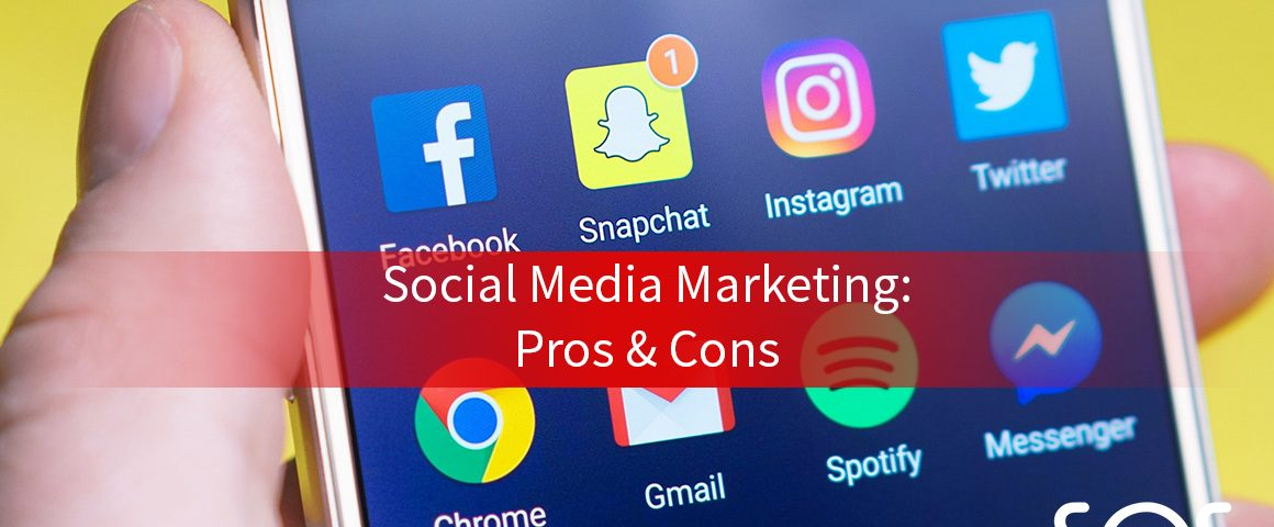 social media marketing pros and cons