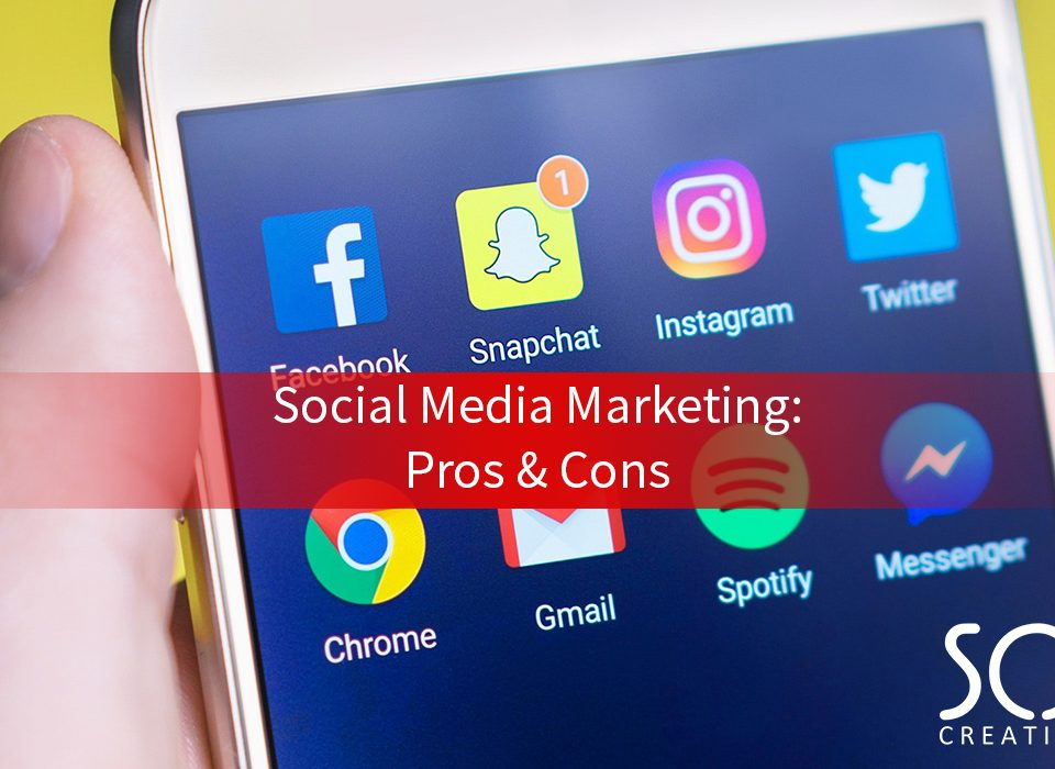 social media marketing pros and cons