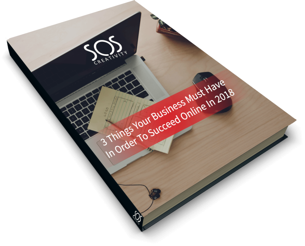 3 things your business must have in order to succeed online in 2018 book cover