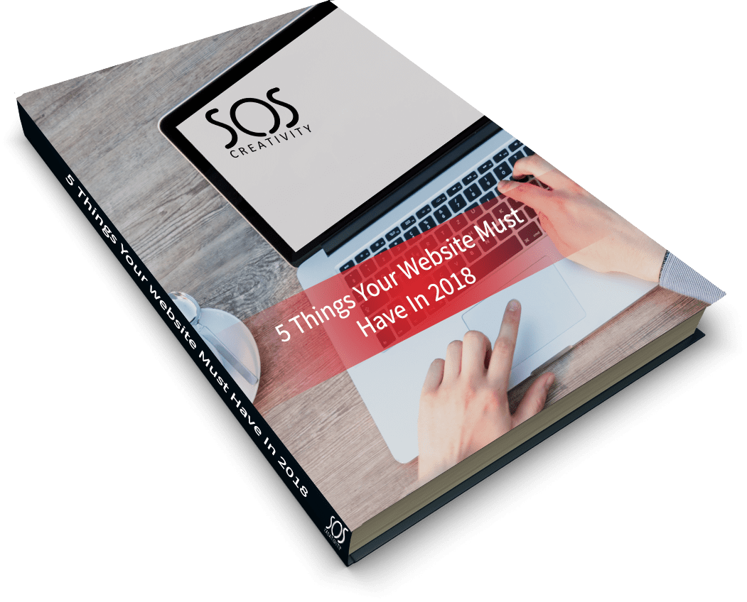 5 things your website must have in 2018 book cover