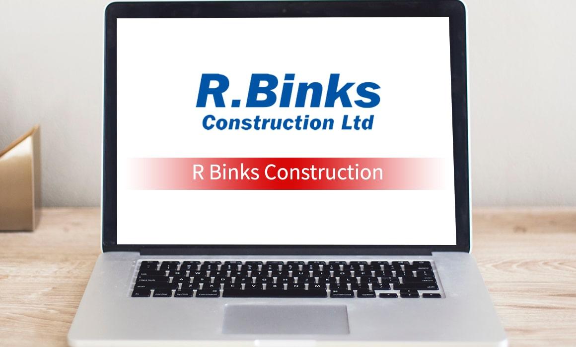 R Binks Construction – SOS Creativity Case Study