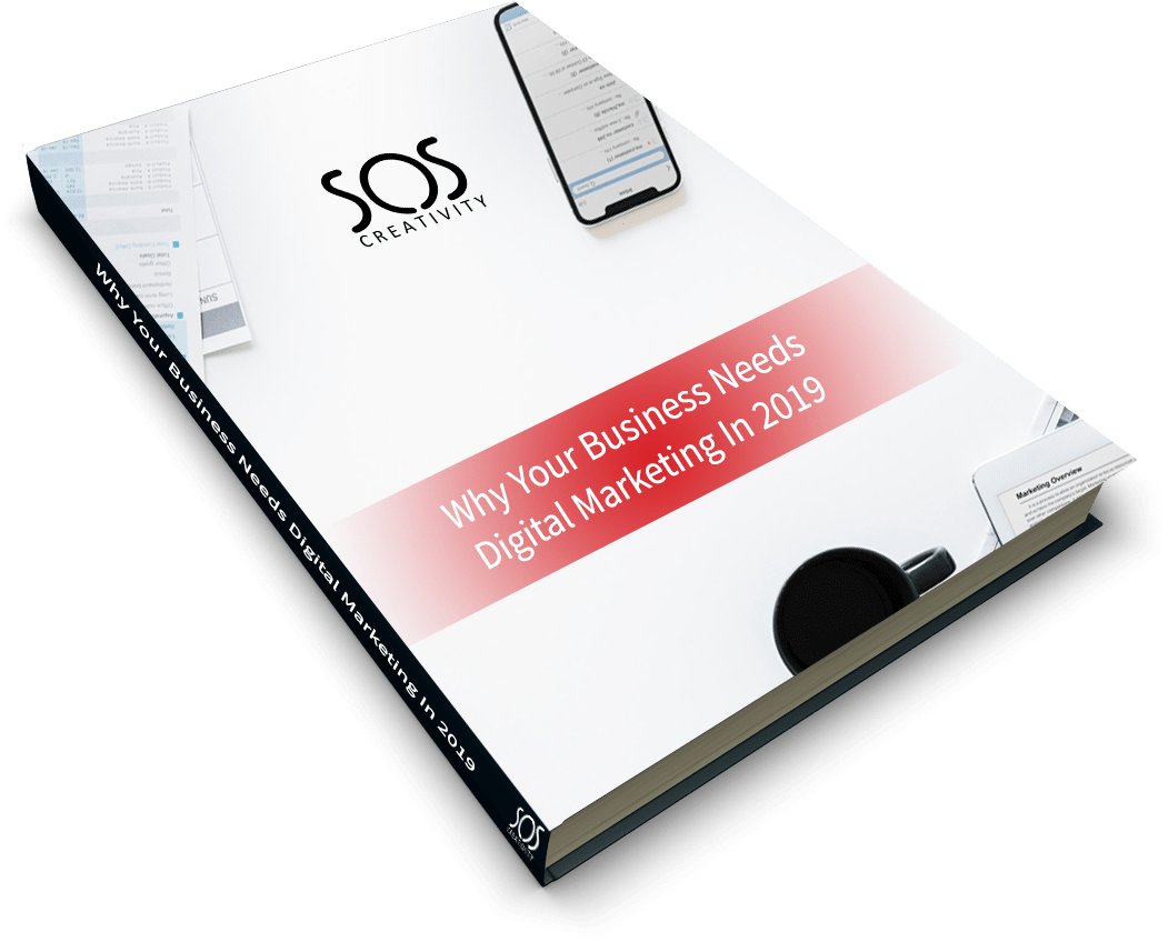 Why your business needs digital marketing in 2019 book cover