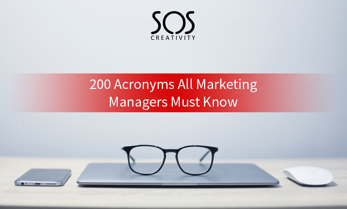 200 acronyms all marketing managers must know