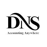 DNS Accountants Black Logo – SOS Creativity