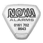 Nova Alarms Black Logo – SOS Creativity