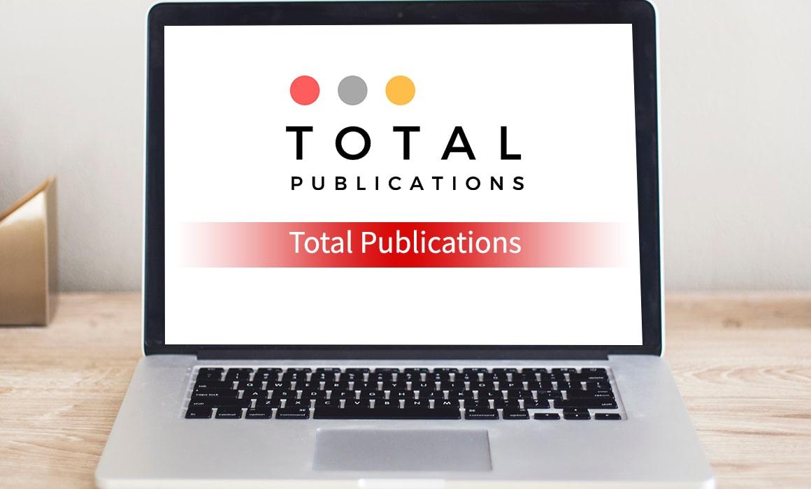 Total Publications – SOS Creativity Case Study
